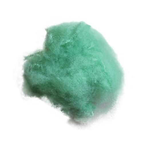 绿 普通涤纶短纤维