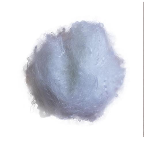 天津白低 有光毛纺专用短纤维