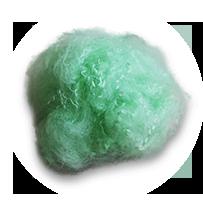 毛纺专用短纤
